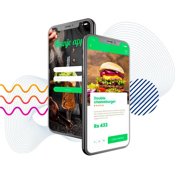 application mobile pour restaurant et bar à l'Ile Maurice